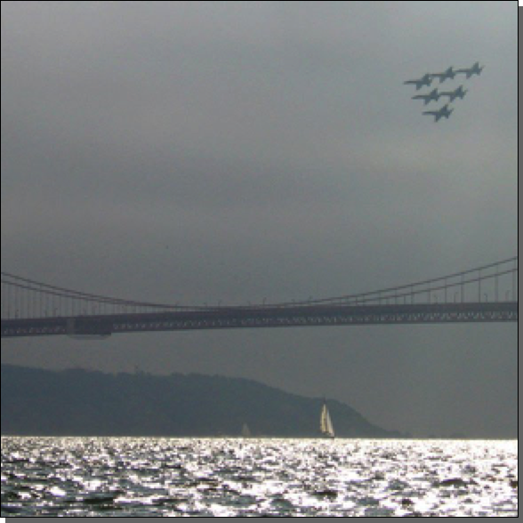 Blue Angels, Golden Gate Bridge